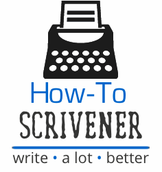 scrivener templates how to scrivener